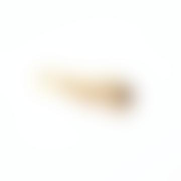 Solid Brass Peanut Keychain