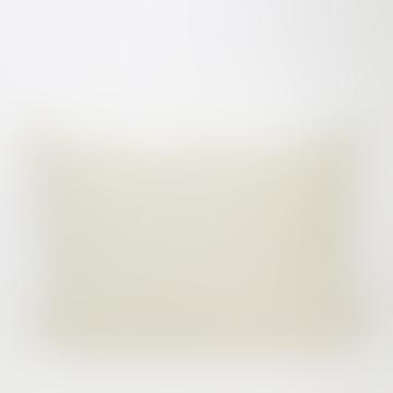50x70 cm Juana Cushion Cover, white/grey-green