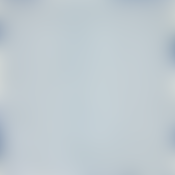 Afroart White/Blue ECO Mini Organic Cotton Fabric, 105 cm width