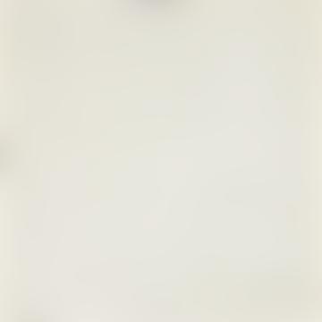 Afroart White/Blue/Brown ECO Regular Organic Cotton Fabric, 100 cm width