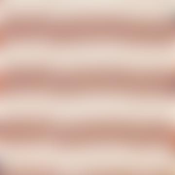 Afroart Orange/Blue/White Ikat Zigzag Cotton Fabric, 114 cm