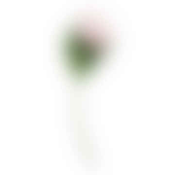 Faux Flower Stem Rouge Peony