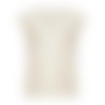Coster Copenhagen Cc Heart Basic V-Neck T-Shirt Cream