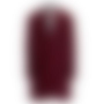 Abboston Check Coat Red
