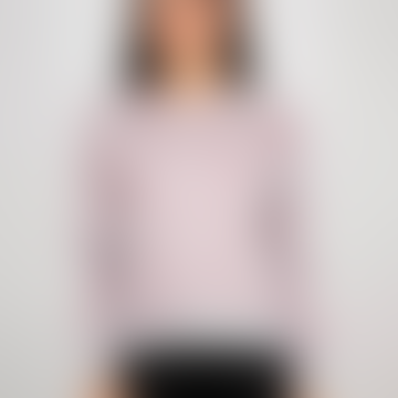 dedicated Sweatshirt Ystad Lips Pattern Grey Melange