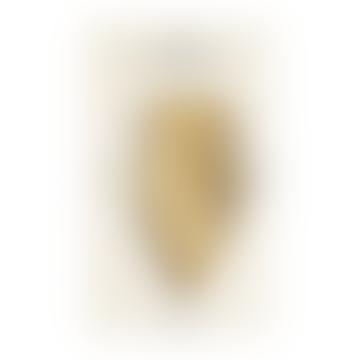 Octaevo Capri Brass Leaf Bookmark