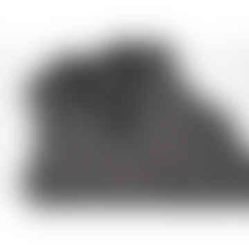 Long Pinafore Black White