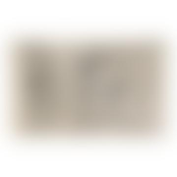 Tapis lavable ethnique naturel Bereber 140 X 215