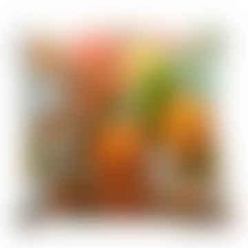 Orangello Velvet Cushion - Small