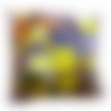 Limoncello Velvet Cushion - Small