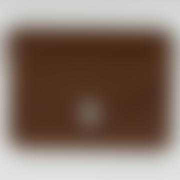 Cognac Wallet, large