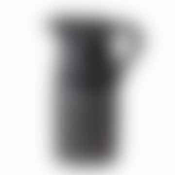 Vase Troy en grès noir