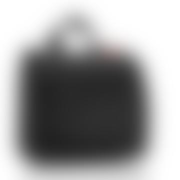 Foldable Black Unisex Travel Toilet Bag