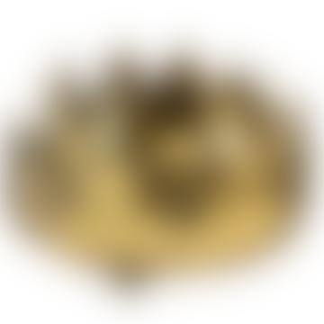 Gold Artichoke Candleholder