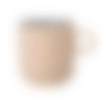 Stoneware 'Matte Nude' Mugs Set of 2