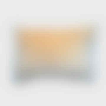 Stonewashed Velvet Cushion Mustard 30 X 50