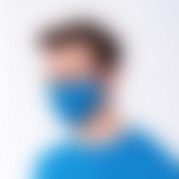 Royal Blue Heiq Viroblock Antiviral Reusable Face Mask