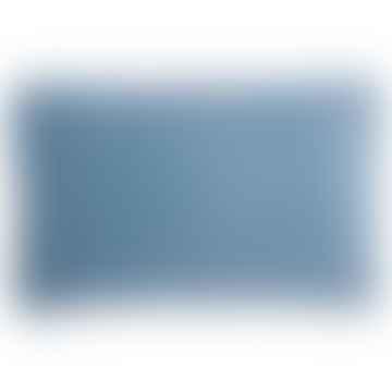Bungalow DK Cushion Cover 33x50cmVelvet D. Blue Light
