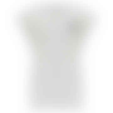 Jirina Sleeveless Tee in White