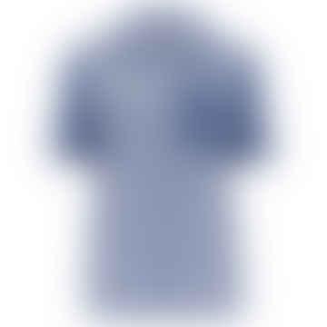 Baum und Pferdgarten Mizzi Short Sleeve Shirt in Blue Mix