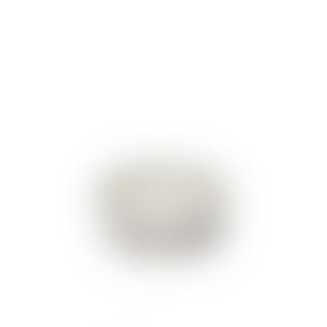 Serax Large White INKU Ribbed Bowl