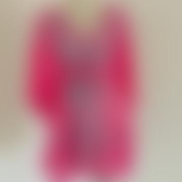 Bebe - Hotpink Kaftan Dress