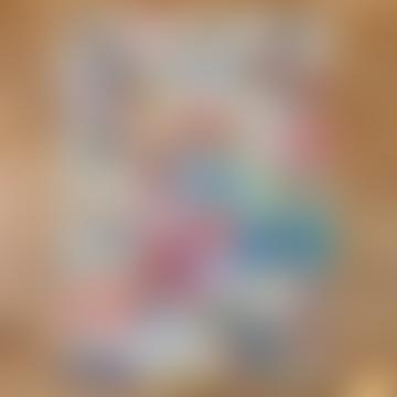 Cavallini Gift Wrap Wall Art - Dog - Rolled