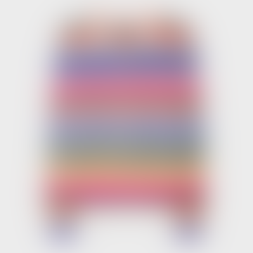 Multi Colour Cotton Striped Cardigan