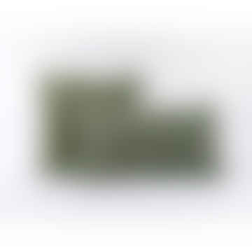 Indigo & Wills Honeycomb Olive Velvet Cushions