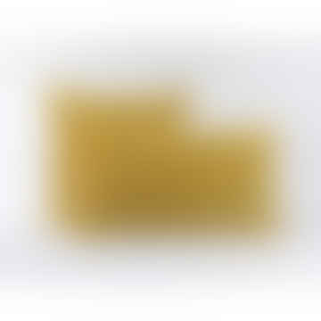 Honeycomb Yellow Velvet Cushions