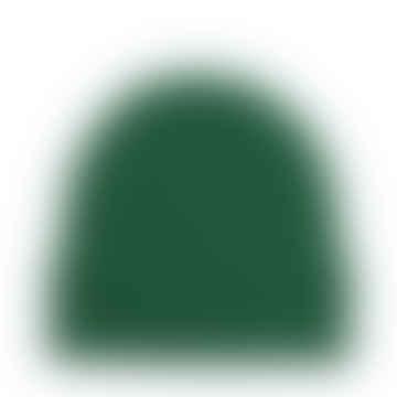 Bonnet en laine mérinos vert