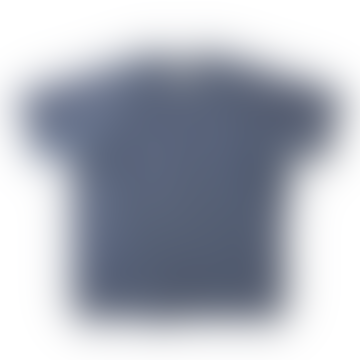 Nigel Cabourn Short Sleeve Crew Neck Sweatshirt Black Navy