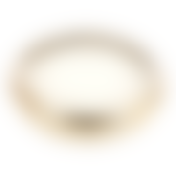 livs Sandalwood 7 Wick Candle - Gold Pot, 20cm