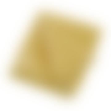 Walton & Co Pom Pom Fleece Throw - Saffron Gold