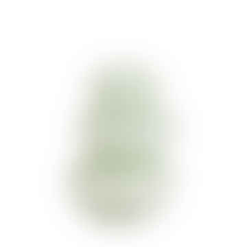 Madam Stoltz Round Glass Vase - Dusty Green
