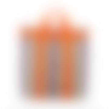 MARGAUX Orange Crossbody Stripe Bag