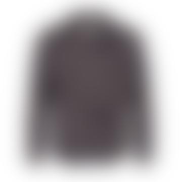 Anerkjendt Aktony Paisley Pattern Tencil Shirt Caviar