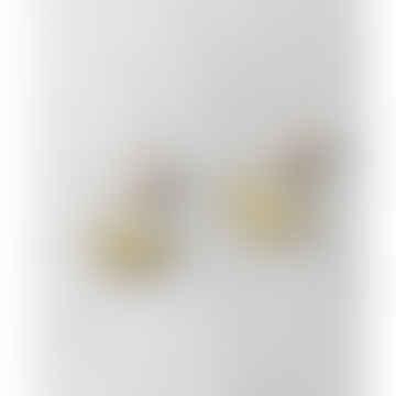 Brass Arco Earrings