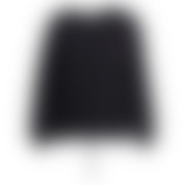 Zetting Cashmere Blend Cardigan in Black