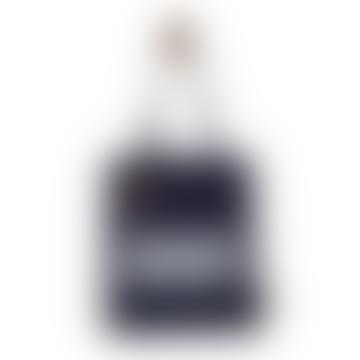 Navy Blue Zig Zag Tote Bag