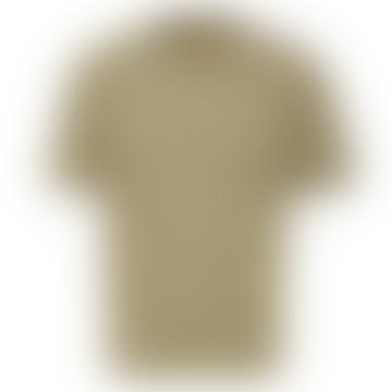 Khaki Box Fit Gilman Tee Shirt