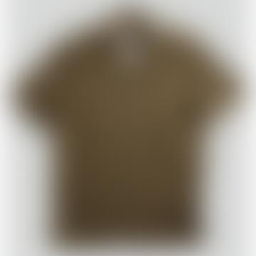 NN07 Miyagi Linen Shirt In Army