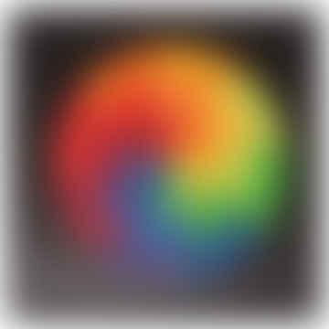 Mandala Circle Goethe Magnetic Puzzle