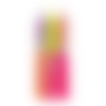 Pink Stories Neon Dip Dye Taper Candles (Set of 3)