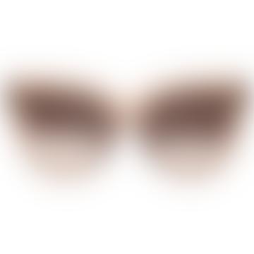 Liar Liar Beige Cateye Sunglasses