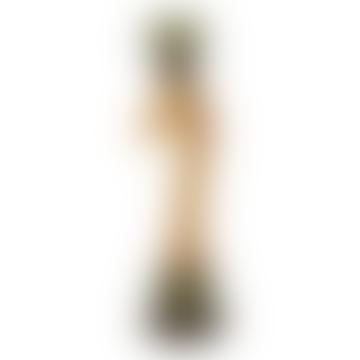 Love Restored Botanical Giraffe Candleholder