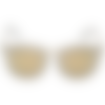 No Smirking Sunglasses - Mist Matte/Gold Revo Polarized