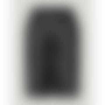 Paso Leather Bermuda Shorts Black
