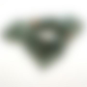 Apaches Collections Small Eucaliptus Petit Foulard Manika Heart Scarf