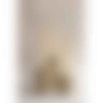 Set of 5 Stone Column Concrete Candle Stick Holders